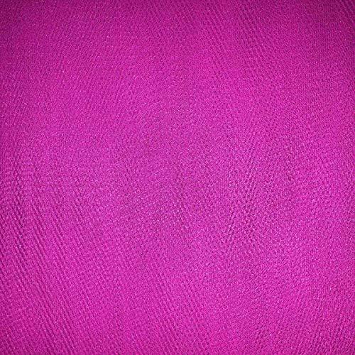 Pluche Addict Jurk Net Tutu Tule Stof Flare Gratis 150cm Breed 30+ Kleuren & Volume [Flo Roze, 5m x 150cm]