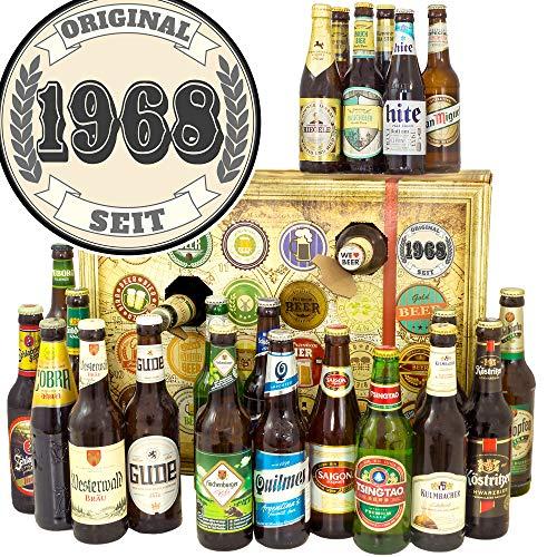 Original seit 1968 + Bieradventskalender 2019 + Bier Paket Welt und DE