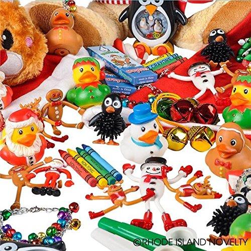 Rhode Island Novelty Chstmas Assortment Toys (50 Piece)