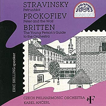Stravinsky: Petrushka / Prokofiev: Peter and the Wolf / Britten: The Young Person´s Guide to the Orchestra