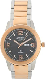 Accurate Casual Watch Analog for Men, Stainless Steel, AMQ1742RGT