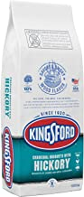 Kingsford 32079 Original Charcoal Briquettes with Hickory, 8 lb, Black