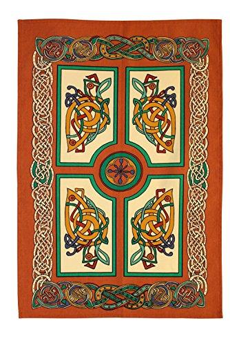 Ulster Weavers Celtic Celebrations 2 Cotton Tea Towel, Multi