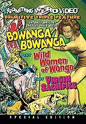 The Wild Women of Wongo is available on DVD (Region 1) from Amazon.co.uk, along with Bowanga Bowanga (1951) and Virgin Sacrifice (1959)