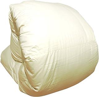 羽毛布団 増量 日本製 シングルスーパーロング 230cm ローズ 無地 ホワイトマザーダックダウン93% 400dp かさ高165mm以上 60サテン 超長綿 二層立体 150×230cm 消臭抗菌 アレルGプラス加工 長身用