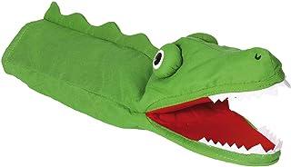 Goki - 2040603 - Marionnette À Mains en Peluche - Crocodile