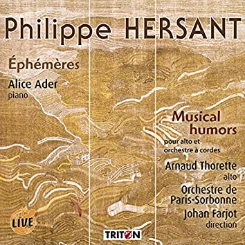 Philippe Hersant: Éphémères (Live)