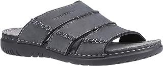 Hush Puppies Mens Cameron Leather Mule Sandal