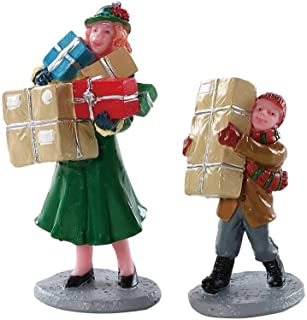 Lemax Village Christmas Rush (Set of 2) # 82610