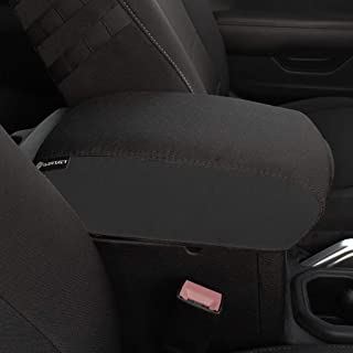 Bartact 2018-2019 Jeep Wrangler JL and JLU Center Console Cover (Black,Black)