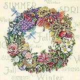 Dimensions Gezählter Kreuzstick Set, Wreath of All Season