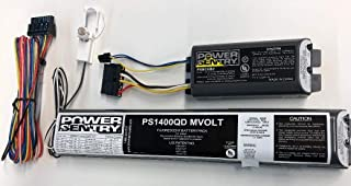 Lithonia Lighting PS1400QD - Emergency Backup Battery - 90 Min. - Operates 1-2 16 to 40 Watt - 2 Ft to 4 Ft. T5 T8 or T12 - 120/277 Volt Includes Battery Control Module PSBCEB2