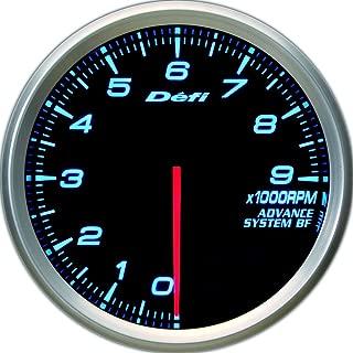 Defi DF10903 Advance BF Tachometer, 9000 RPM, Blue, 80mm