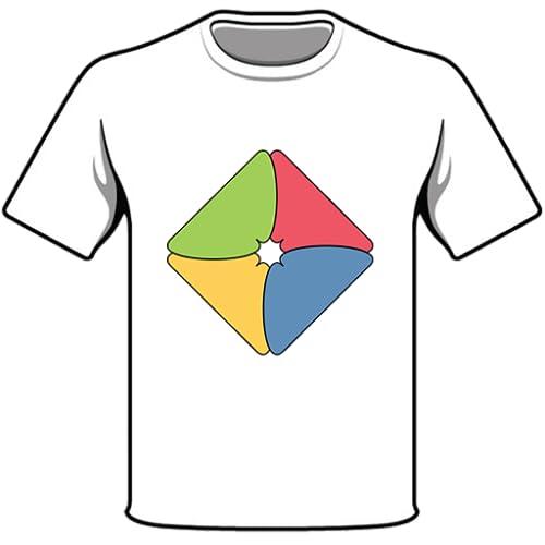 Entwerfen und drucken T-Shirts
