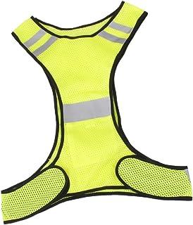 a6eefa623a742 Veste Gilet de Sécurité Réfléchissant Pour Course Jogging Vélo Marche -  Jaune