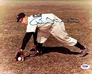 Billy Martin Signed 8x10 Photo Yankees - PSA/DNA Authentication - Autographed MLB Photos