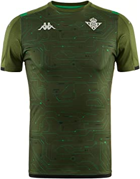Kappa Real Betis Balompie Training 2019-2020, Camiseta, Oliva-Verde