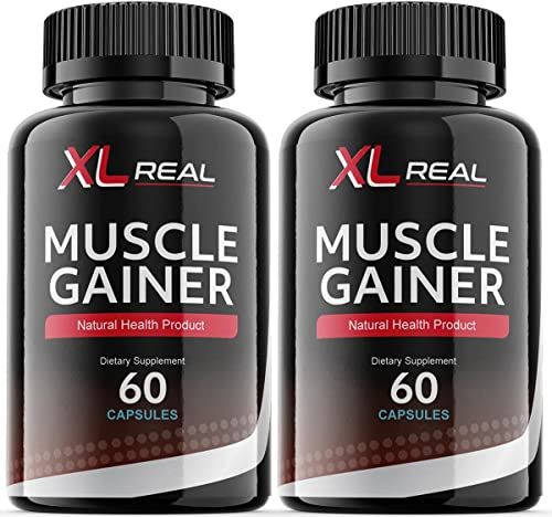 2021 XL Real lowest Muscle Gainer for online sale Men (2 Pack) outlet online sale