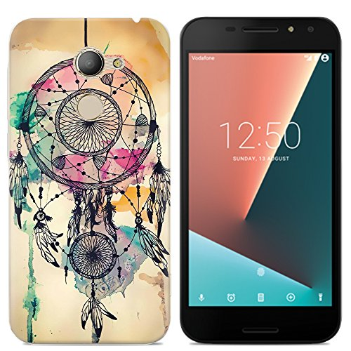 Easbuy Handy Hülle Soft Silikon Hülle Etui Tasche für Vodafone Smart N8 Smartphone Cover Handytasche Handyhülle Schutzhülle