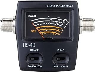 Power Meter, KKmoon high precision Power Meter SWR Standing Wave Ratio Watt for HAM Mobile VHF UHF 200W