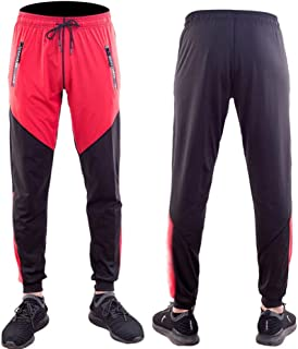 LUKEEXIN Sports Tights Pants Cool Dry Pants Yoga Pants for Mens