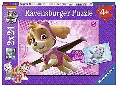 Ravensburger - Puzzle 2 x 24, Paw Patrol C (09152) por Ravensburger