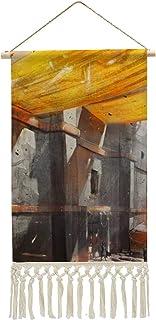 HirrWill Bawełna i len wisi zdjęcie, sztuka fantazyjna, wiek smoka II, malarstwo, sztuka dekoracji ścian, drewniane paski ...
