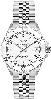 Philip Watch Reloj Analógico para Mujer de Automático con Correa en Acero Inoxidable R8223216503