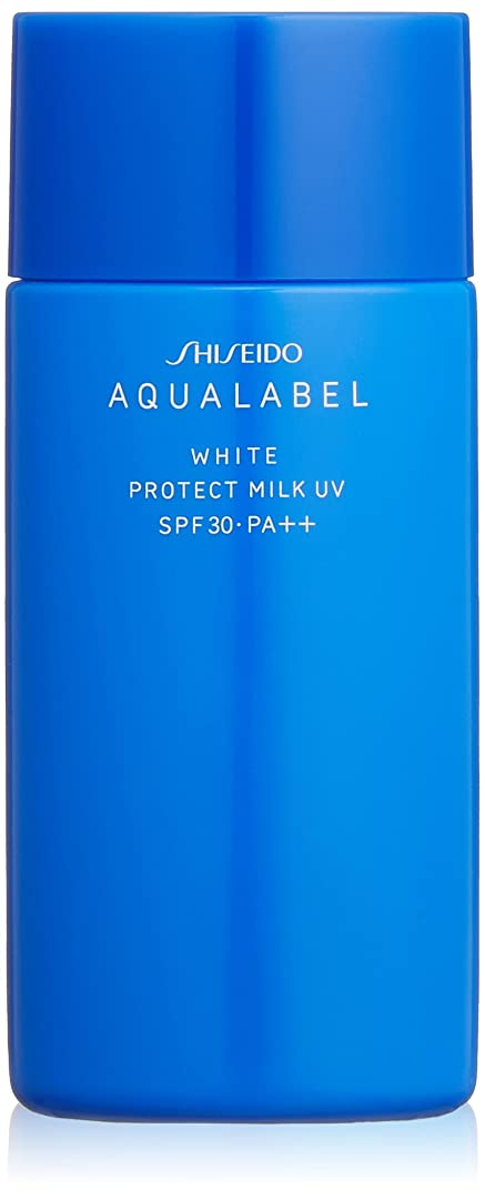 振り返る情緒的実証するアクアレーベル ホワイトプロテクトミルクUV (日中用美容液) (SPF30?PA++) 50mL