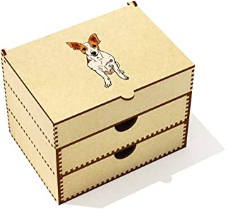 Azeeda  Rat Terrier  Vanity Case Makeup Box  VC00020422