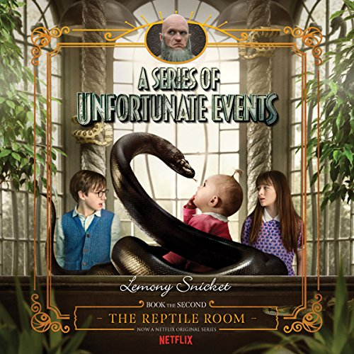 The Reptile Room audiobook cover art