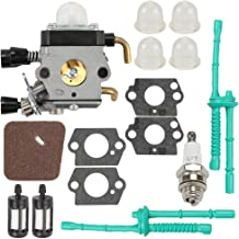 C1Q-S97 Carburetor for Stihl FS38 FS45 FS45C FS45L FS46 FS55 FS55C FS55R FS55RC FS55T HL45 KM55 KM55C KM55R KM55R ZAMA Carb String Trimmer Weed Eater