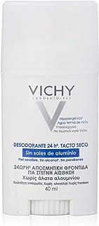 Vichy Desodorante Stick sin Sales de Aluminio 24 h, 40 ml