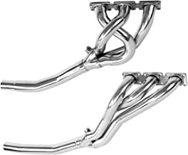 Carpartsinnovate For 92-99 BMW E36 3-Series M3 2.8/3.2L L6 Stainless Racing Manifold Header/Exhaust