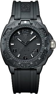 Luminox - Sentry 0200 XL.0201.BO Reloj de Plásticolsera Cuarzo Hombre correa de Plástico Negro