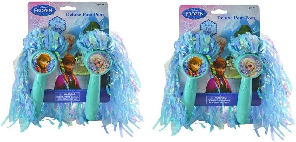 Disney Frozen Import Washington Mall Pom Poms x 2 set