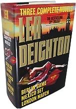Three Complete Novels: Three Complete Novels : Berlin Game/Mexico Set/London Match by Len Deighton (31-Oct-1997) Hardcover