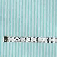 生地のマルイシ (1mカットクロス)綿 ポリ ストライプ 品番6510 4510 ミントグリーン 3mmストライプ