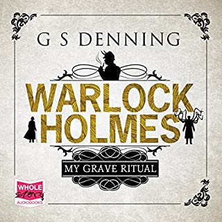 Warlock Holmes: My Grave Ritual cover art