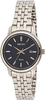 Seiko Womens Quartz Wrist Watch, Analog and Stainless Steel- SUR665