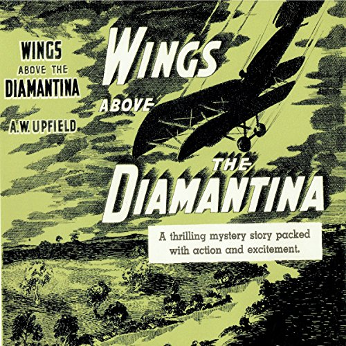 Wings Above the Diamantina audiobook cover art