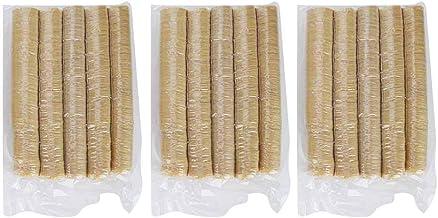 Caixa de salsicha, 15 peças de invólucros de colágeno comestível para salsichas aromatizadas caseiras, presunto, pimenta, ...
