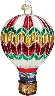 Old World Christmas Hot Air Balloon Blown Glass Christmas Ornament Christmas Colors