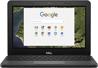 Dell Chromebook W0KX6 Intel Celeron N3350 X2 2.4GHz 4GB 16GB SSD,Black(Renewed)