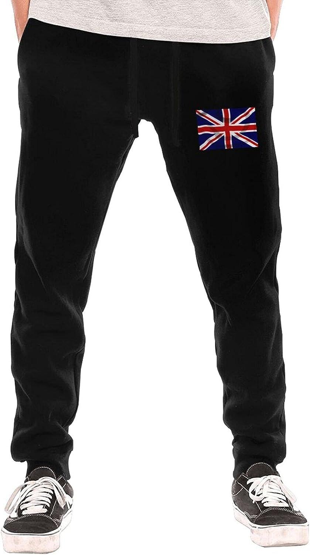Union Jack Men's Youth Long Pants Underwear Sport Pants Fleece Pants