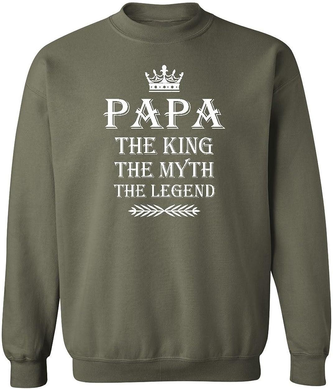 PAPA King Myth Legend Crewneck Sweatshirt