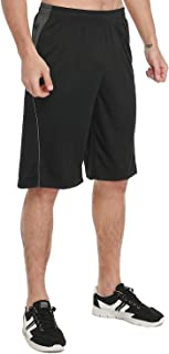 KPSUN Mens Active Basic 11 Inch Athletic Performance Basketball Shorts with Pockets&Waistband