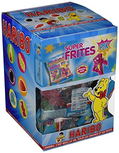 Haribo Caramelle Incartate Mini Super Frites - 30 pacchetti da 40g [1200g]