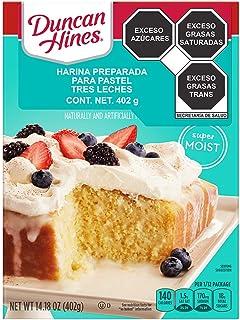 Duncan Hines Cake Mix, Tres Leches, 432 g. El empaque puede variar