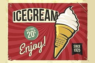 Best vintage ice cream advertising Reviews